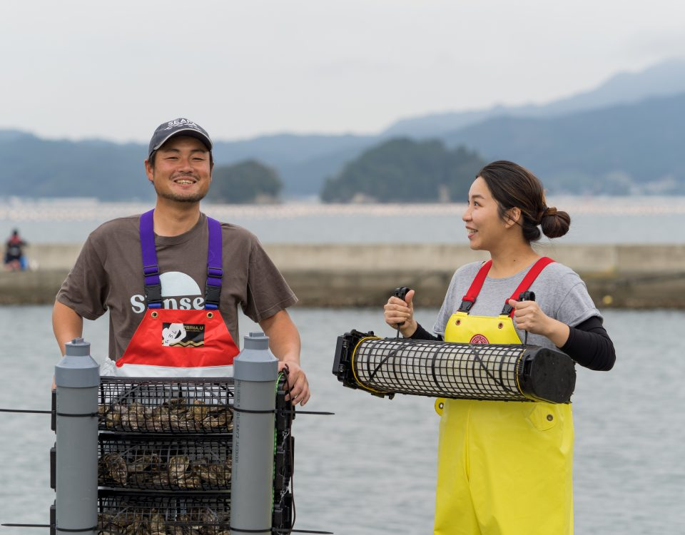 月刊「養殖ビジネス」連載 カキ養殖の進化させるシングルシードの挑戦者たち 岩手県