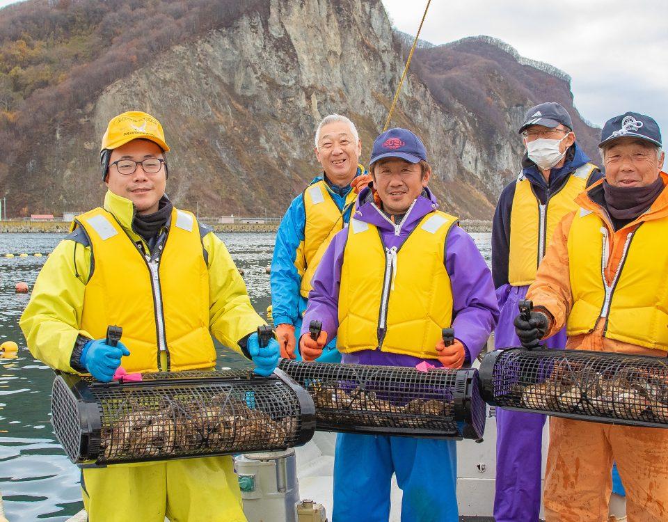 北海道余市 SEAPA 牡蠣養殖バスケット(カゴ) シングルシード養殖